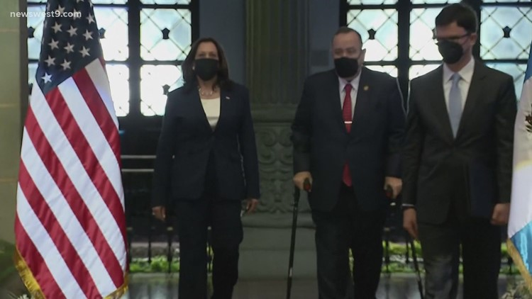 Local officials on Vice President's trip to Guatemala and Mexico