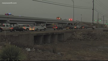 Multiple crashes in Odessa leave roads backed up
