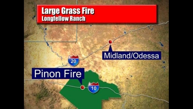 Fire in Pecos County Fully Contained