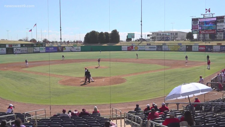 Odessa High Baseball vs Midland High