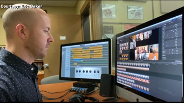 Odessa College's jazz band creates a virtual final performance because of COVID-19