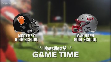 Week 9-McCamey vs. Van Horn