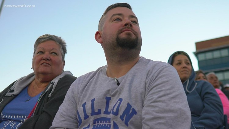 Son gifts mother with tickets to Permian game