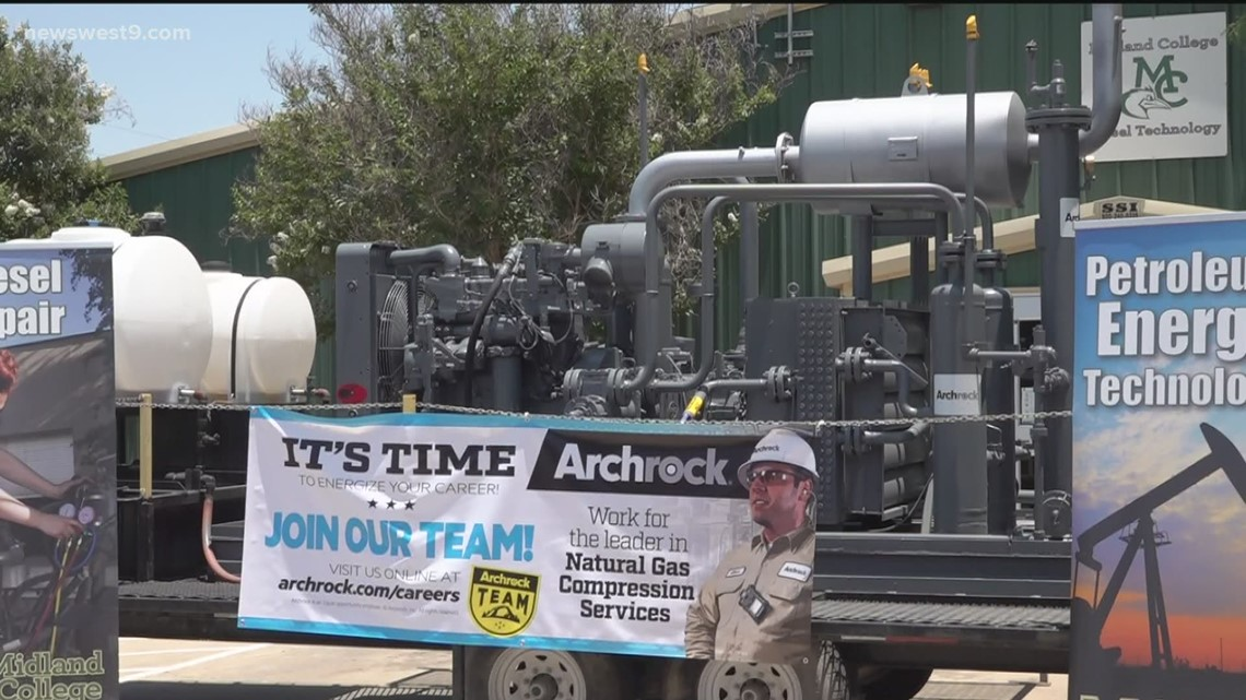 Midland College receives $200,000 compressor donation from Archrock