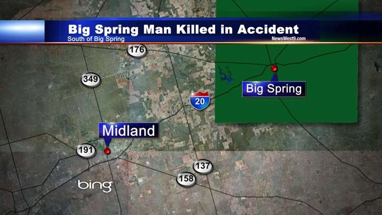 Big Spring Man Killed in Early Morning Accident, Two Others Injured
