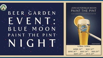 Paint the Pint combines alcohol with art