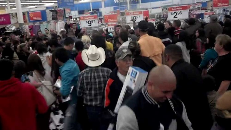 Black Friday Madness Breaks Out at Local Wal-Mart