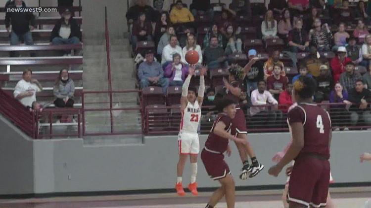 Wink Boys Basketball vs Clarendon High