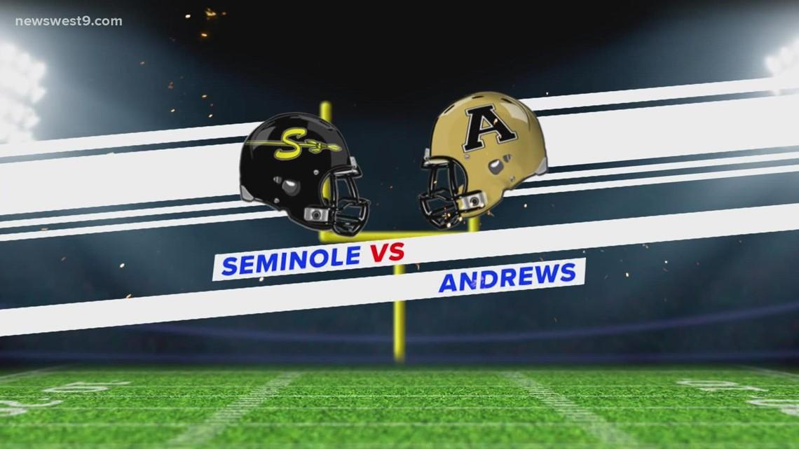 Week 4   Seminole vs. Andrews