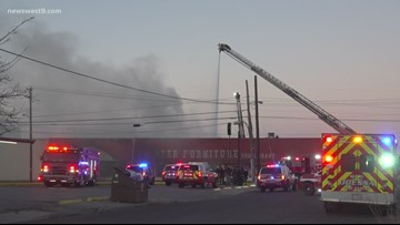 Pioneer Furniture burns down, police investigating cause