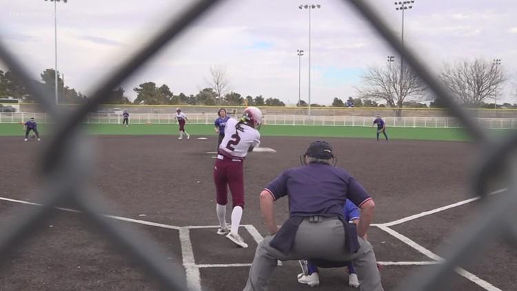 Midland Lee softball vs Lubbock Estacado