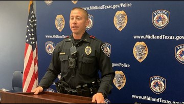 Midland police cracking down on traffic violations during maximum enforcement period
