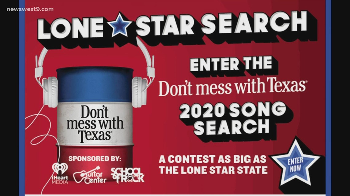 Don't Mess With Texas launches song competition, anti-litter theme song