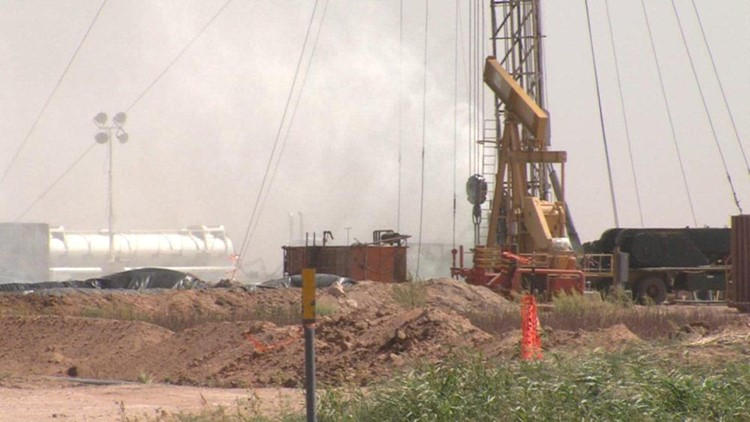 Officials Investigating Oil Well Blow Out in Martin County
