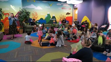 Midland library hosts toddler story time