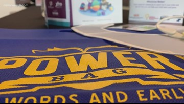 Education Partnership creates 'POWER Bags' to encourage early literacy