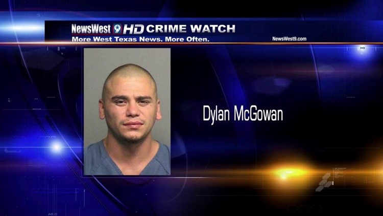 Midland Man Accused of Assaulting Officer, Resisting Arrest