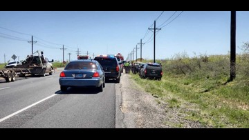 1 killed in accident on Highway 158 in Midland Co.