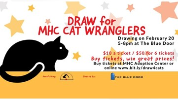 Raffle supports MHC Cat Wranglers' Trap Neuter Release program