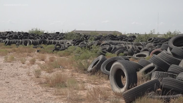 Ector County not rolling over scrap tire littering problem any longer