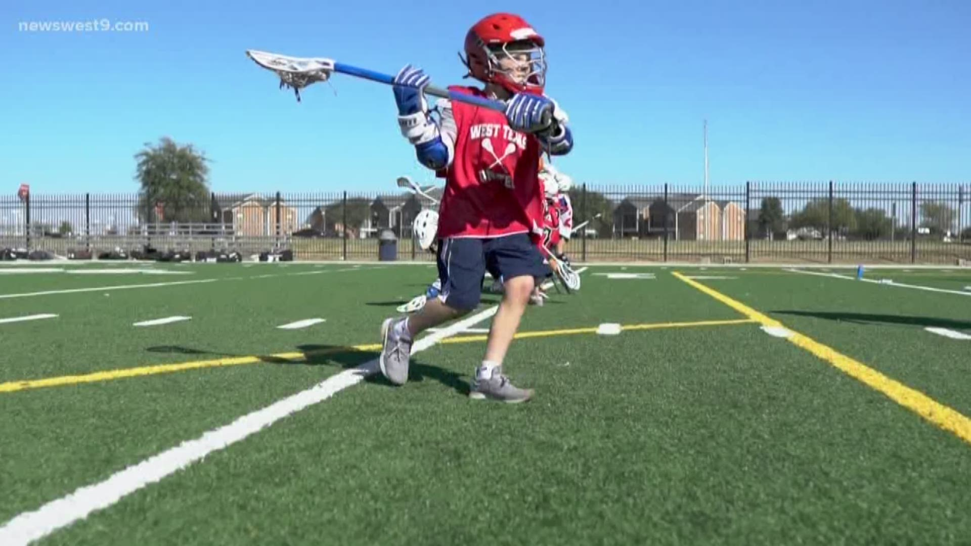West Texas Lacrosse Holds Free Clinic Newswest9 Com