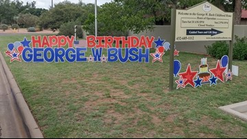 George W. Bush Childhood Home holds birthday bash