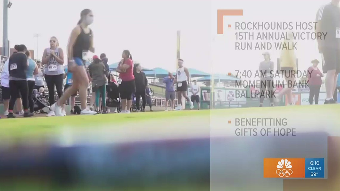 Midland Rockhounds to hold 15th annual Victory Run and Walk