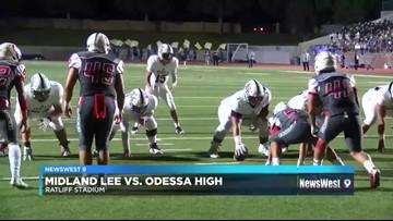 Week 8-Midland Lee vs. OHS