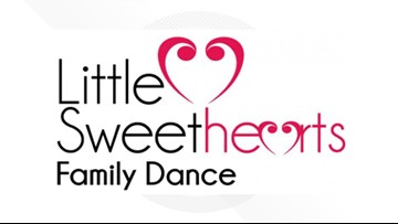 Midland YMCA hosts Little Sweethearts Family Dance