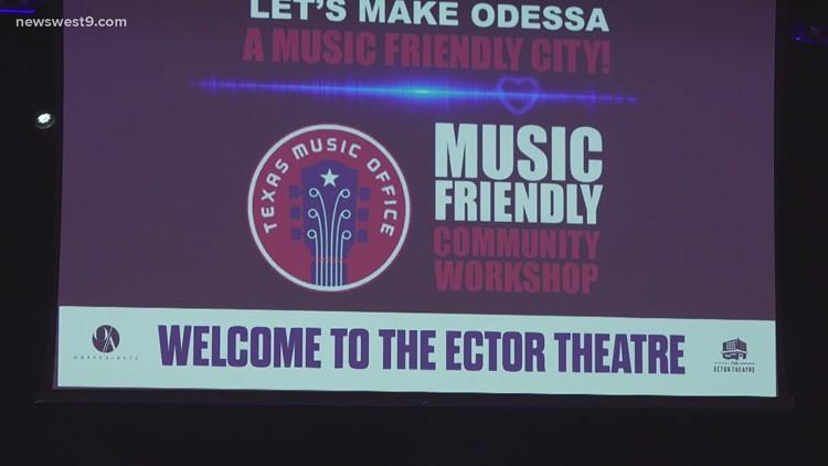 Odessa Arts hosting Texas Music workshop