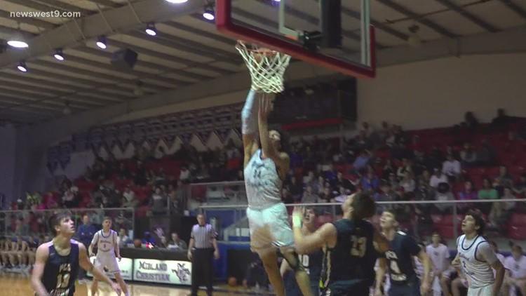 Midland Christian boys basketball vs Prestonwood