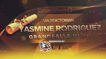 Yasmin Rodriguez - Valedictorian for Grandfalls High