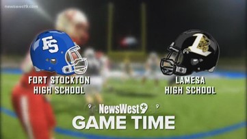 Week 11-Fort Stockton vs. Lamesa