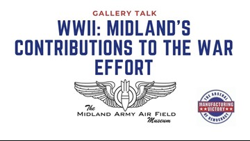 Midland library host talk on city's role in WWII