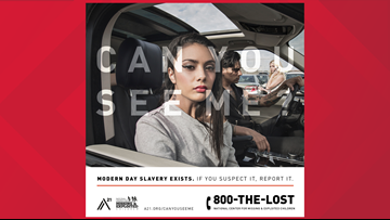 Anti-human trafficking billboard set to highlight realities of human trafficking