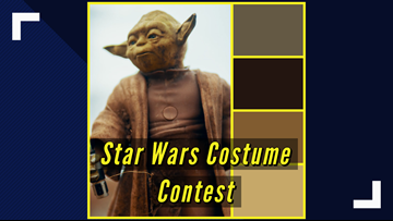 May the force be with you at the Star Wars Costume Contest in Odessa