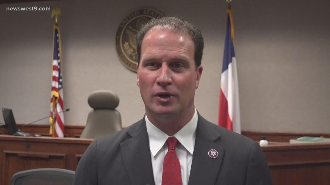 August Pfluger sworn in as District 11 congressman