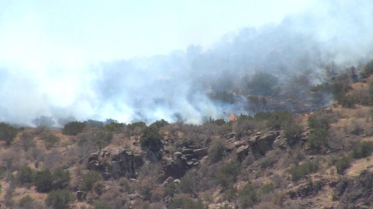 Gage Holland Fire 95 Percent Contained
