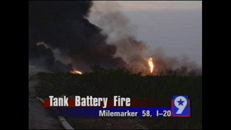 Tank Battery Fire Leaves Behind Extensive Damage