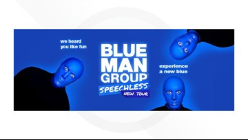 Blue Man Group comes to Wagner Noel