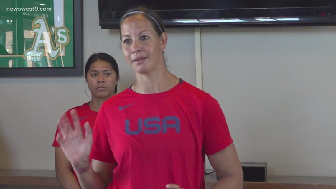 USA Softball visits West Texas