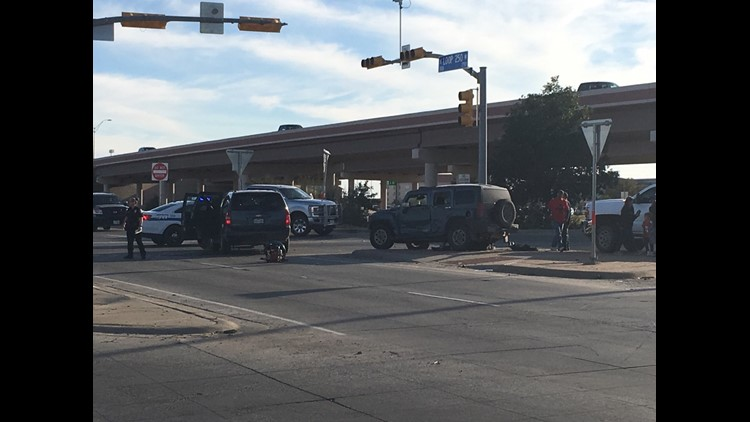 Midland Police responding to accident at Loop 250, Andrews Hwy