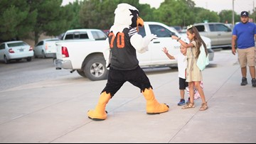 UTPB Falcons welcome ECISD students