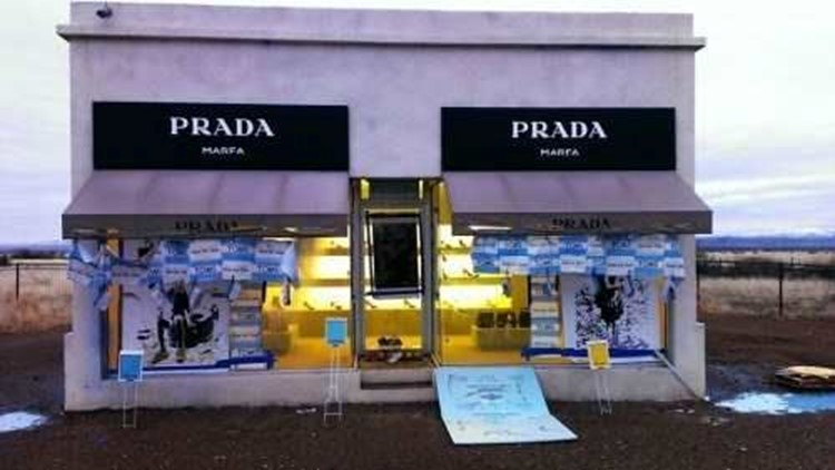 Artist Accused of Vandalizing Prada Marfa Art Site