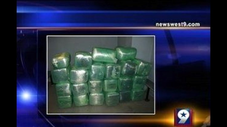 Border Patrol Agents Make Big Pot Bust in Sierra Blanca