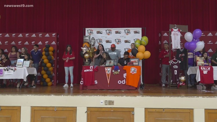 Six Odessa High student-athletes sign to compete & study in college