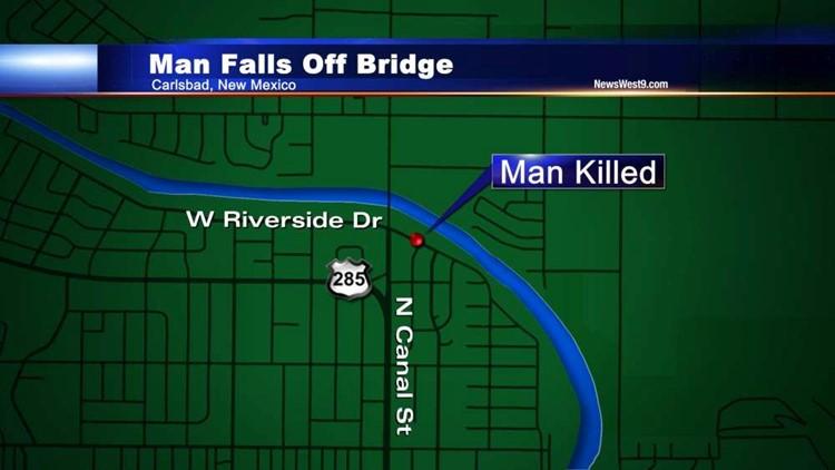 Carlsbad Man Killed After Falling From Bridge