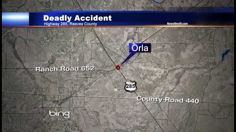 Oklahoma Man Killed in Reeves County Accident   newswest9 com