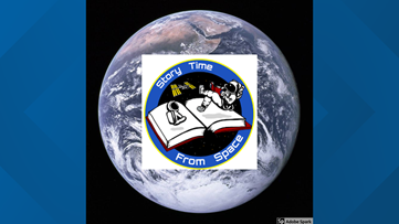 Storytime From Space entertains children for those indoors
