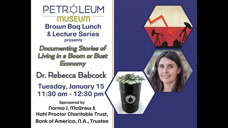 Petroleum Museum hosts UTPB professor for Lunch & Lecture series